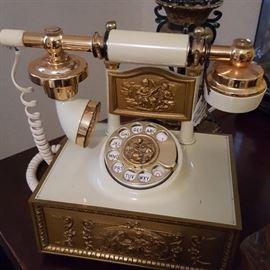 Ornate French Phone