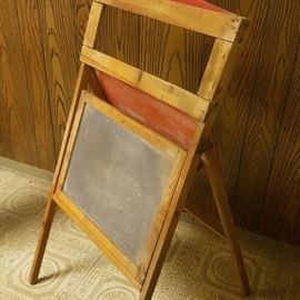 Child's Chalkboard Easel