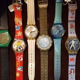 Highly collectable watches from Swiss watchmaker, Swatch