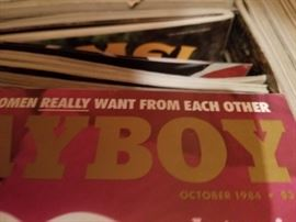 Large collection of playboy magazines, Sold in packs of Two.