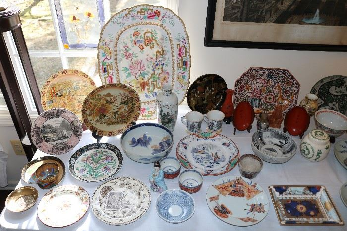 Chinese, Japanese and European Porcelain