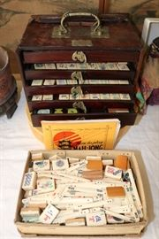 Antique mahjong set(s)