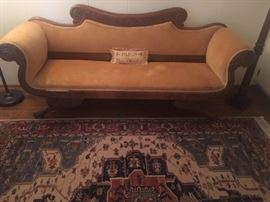 Federal Sofa, Rug not in the sale.