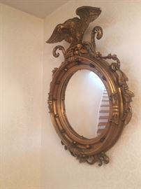 19th c  Gilded Mirror