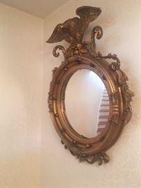 19th c  Gilded Mirror