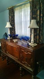 **GORGEOUS**** 1920'S CARVED BUFFET