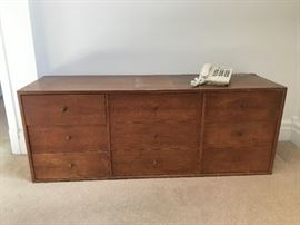 Mid Century Modern 9 drawer chest