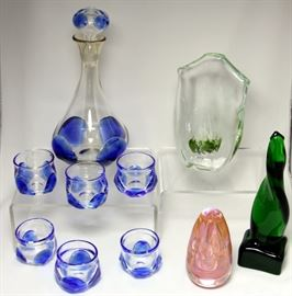 Ohio Artist Dominick Labino Art Glass All Signed & Dated - SOME EXCEPTIONAL PIECES!!