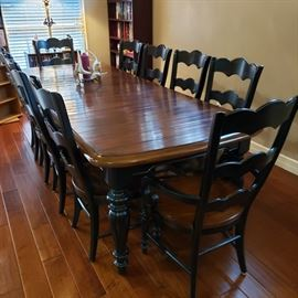 Gorgeous Dining room with seating for 10.