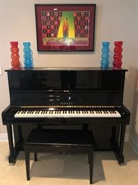$3,250 - Yamaha Studio Silent Piano with headphones.  Purchased new from Forbes Piano in 1997.  Model Number MP100PE.