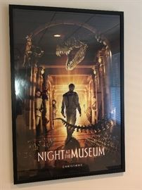 $35 - Original Night at the Museum Movie Theater Poster