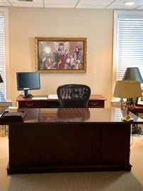 $750 - Desk from Indiana Furniture Company Arlington Collection.  Retails for $2600.  Beautiful desk and worth so much more!