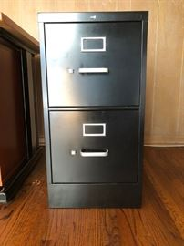 Hon 2-drawer file cabinet