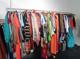 Women's and men's clothing in a range of sizes!
