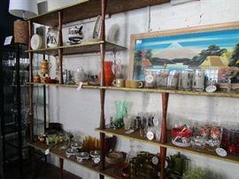 Barware barware barware!! Tea sets, ceramics, art, fondue set, china...