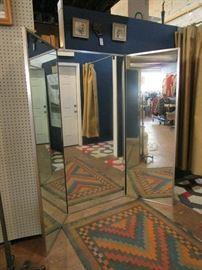3-way standing mirror