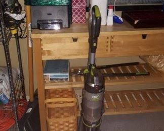Stair Basket, Vacuum Cleaner, Tools