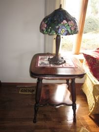Tiffany Style Lighting Many Furniture Accent Tables