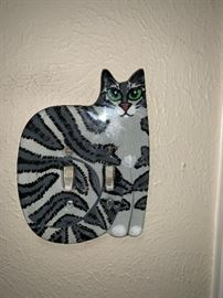Cat Light Switchplate