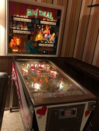 Williams Electronics created this lovely pinball machine in 1977 and it still shines bright today.  (Yet to be tested but looks in fantastic condition.)