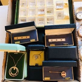 "Selling as a ""lot"" we have a group of birthstone jewelry complete with the stones"