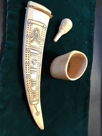 One of the special cribbage boards