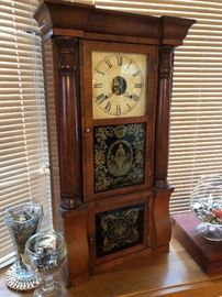 Antique clock, we have a couple but they are all very unique