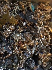 Oh, and bits and bits of costume jewelry