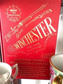 "Winchester gun collector book... for our ""gun - guys"""