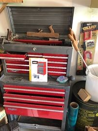 We emptied out this Craftsman tool chest, - ready to go