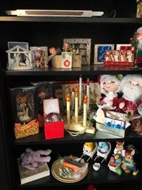 Cute cabinet of Christmas