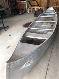 Terrific aluminum canoe