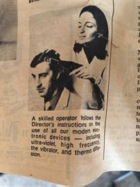 And according to this - that Renulife can even restore your hair... of course you do need a skilled operator!