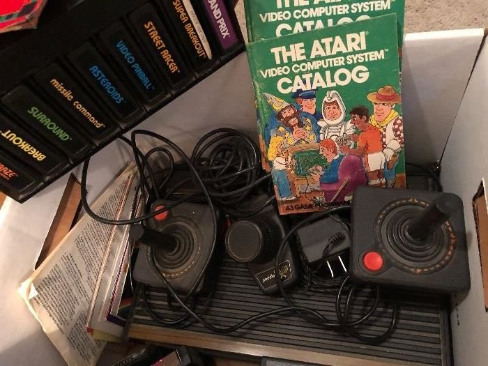 Before Nintendo,  before Playstations... the game that started it all.  Atari.  Bring on your Pong skills.