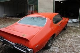 1969 PONTIAC GTO- RAM AIR III, 370 BHP 400-4 CID ENGINE, HARDTOP, AUTOMATIC, THE JUDGE, ORIGINAL OWNER, GARAGE KEPT, 39,290 ORIGINAL MILES,   THERE WERE ONLY 787 OF THIS MODEL EVER MADE WITH THE AUTOMATIC TRANSMISSION.