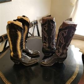 Ladies extra tall boots