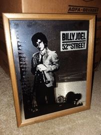 Vintage Billy Joel Carnival Mirror