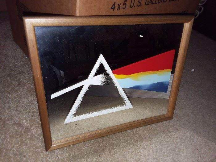 Vintage Pink Floyd Carnival Mirror