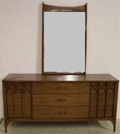 Kent Coffey Perspecta dresser with mirror