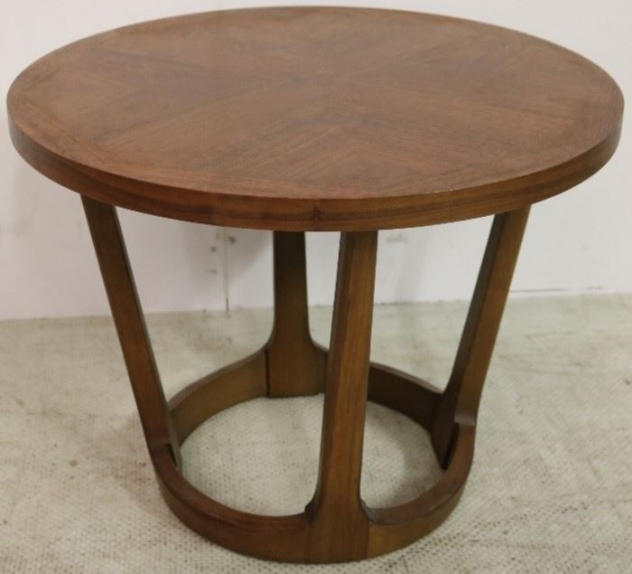 Lane mid century drum table