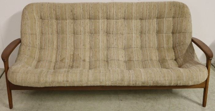 Danish teak sofa by R Huber