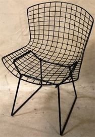 Wire mid century chair