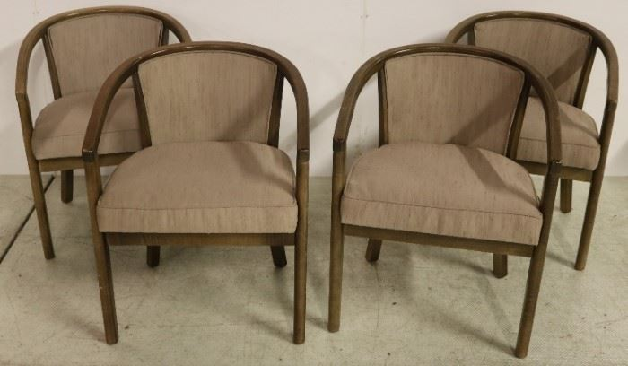 Matched set of 4 vintage chairs