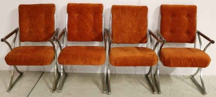 Matching set of arm chairs