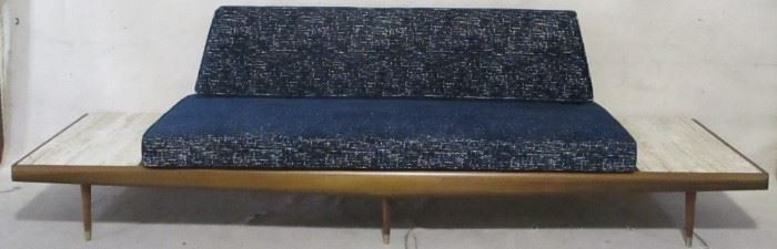 Adrian Pearsall sofa w/ built in side tables