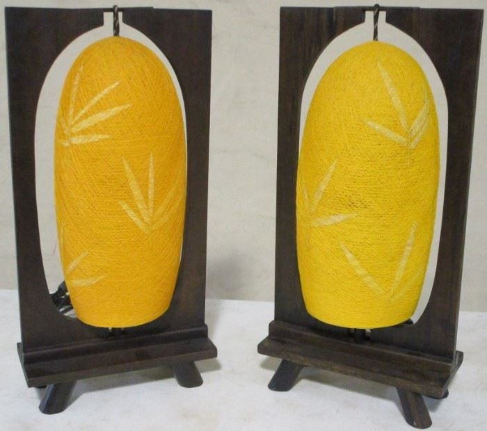 Exceptional pair Asian lanterns