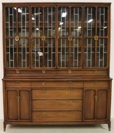 Mid century china cabinet by White Furniture