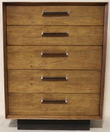 Lane Rosewood inlaid tall chest