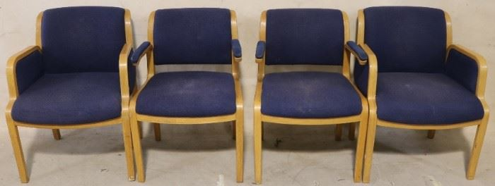 Set of Thonet chairs