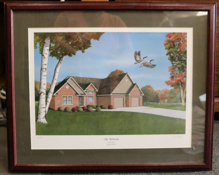 Jim Brune Limited Edition print called The Belmont
